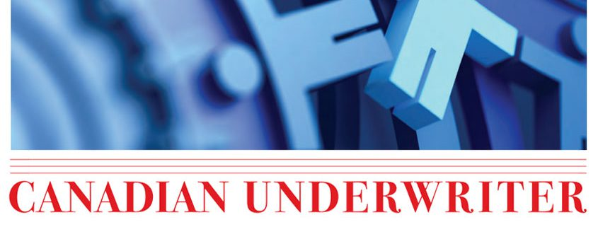 Cover of Canadian Underwriter magazine.