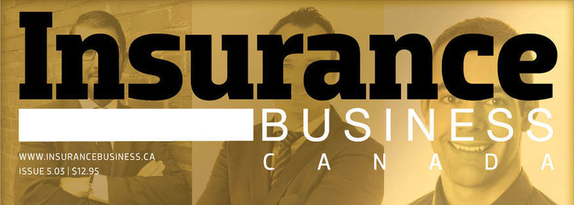 Cover of Insurance Business Canada magazine.